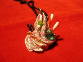 Whipped Cream Necklace by StregattaPuponzi