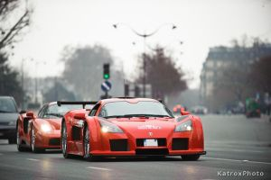 Gumpert Apollo and Enzo by Shibbychibs