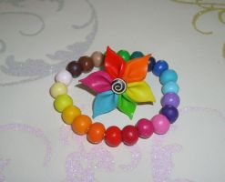 Rainbow Set... by PORGEcreations