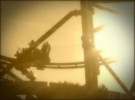 Steel Hawg in Sepia by ThePrettyMachine
