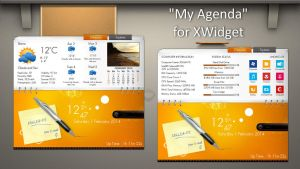 My Agenda for xwidget by jimking