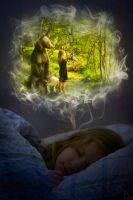 Dream of a little girl by NoiZe-B