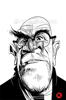 Chuck Close by RussCook