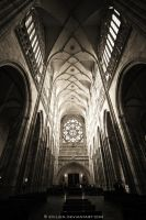 Saint Vitus Cathedral by Evilien