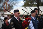 Pipers on the march by NinthTome