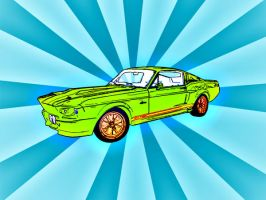 Phychedelic GT500 by Jak-D
