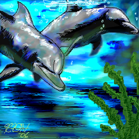 Dolphins by HillBilly-Pepper