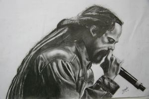 Damian Marley by manuvicius