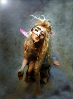 Touch of Magic fairy mask by cdlitestudio