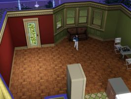 Sims 3 - I ate a cereal for early breakfast by Magic-Kristina-KW