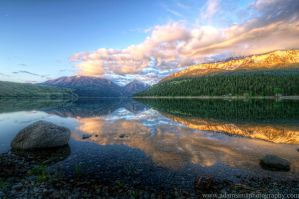Wallowa Lake Sunrise 6-3-13 by adamsimsphotography