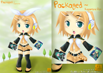 Kagamine Rin Packaged by Goddess-Tears