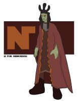N is for Nemodian by jksketch