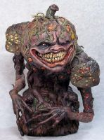 Demon Of The Harvest Painted by Blairsculpture