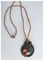 BioShock Infinite - Songbird necklace by CrowMaiden
