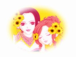 Nana and Hachi by h8teme2day
