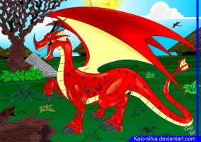 red Dragon by Kaio-Silva