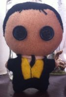 Crimes And Punishments - Sherlock Plushie by Jack-O-AllTrades