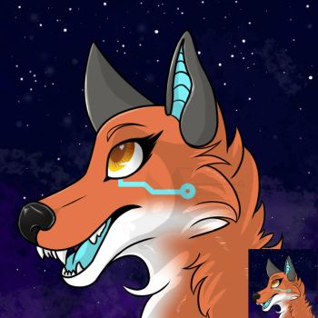 Amber Icon by CybertechFoxArt