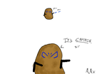 Potato Rex by AngelAxexinf
