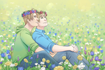 Flower Crowns USUK by VictoriaWings