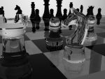 glass chess by Tschisi