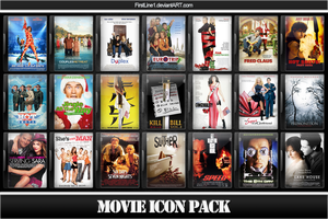 Movie Icon Pack 22 by FirstLine1