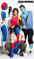 X-Men Cosplay Group by Emma-Lawlor