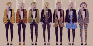 pattern collection by aikaparanoid