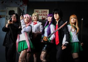 Highschool of the Dead Team! by MaryAlfaro