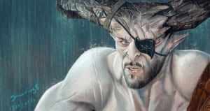 Iron Bull (dragon age: Inquisition) by Sicarius8