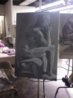 Life Studies - Value Painting by dichotomies