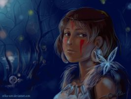 princess mononoke by Erika-Xero