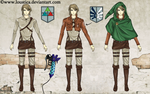 TLoZ x SnK - Link (Crossover Project) by Loustica