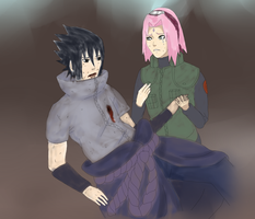 SasuSaku~ You Shouldn't Have Saved Me by naruto3119
