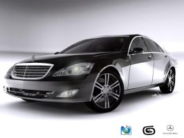Mercedes Benz S500 by yamell
