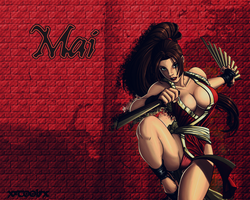 Mai Wallpaper by xXxTOOLxXx