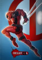 DEADPOOL by huzzain