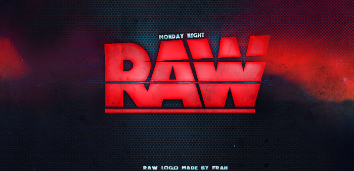 RAW Logo restyle by fraH2014