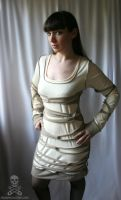 mummy wrap dress by smarmy-clothes