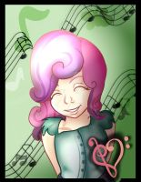 Love is in Music (Sweetie Belle) by KairiChizuruChan