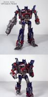 Deluxe DOTM Optimus Prime by Unicron9