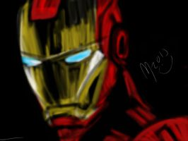 Iron Man (ipad) by mariali599