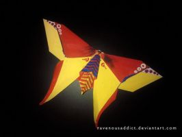origami butterfly by RavenousAddict