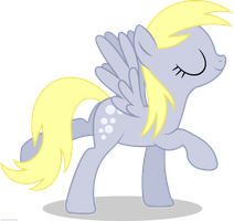 Derpy Posing - PNG by Larsurus