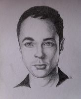 Jim Parsons (Sheldon Cooper) by marty-mclfy