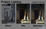 VSD Project: Lighting by JFStudioArt
