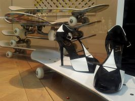 Skate-shoes by ANOZER