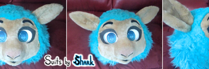 Chibi Sheep/Ram Fursuit ~ Up for auction ANY COLOR by TwerkOnThatShark