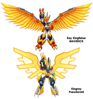 Ray Kingfisher and Kingray Comparison by ultimatemaverickx